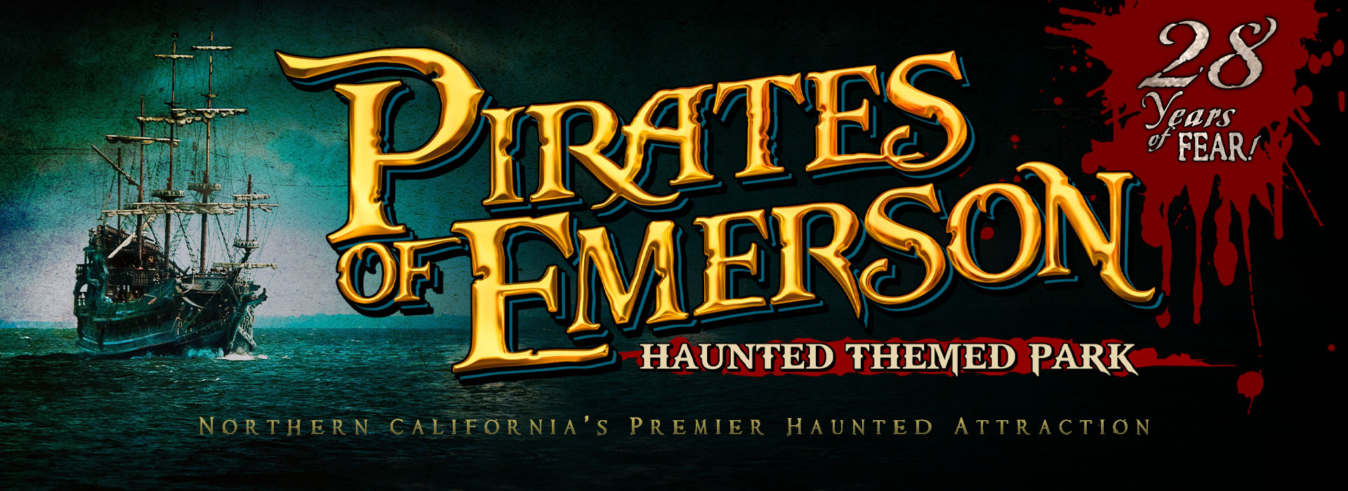 Pirates of Emerson Haunted Themed Park – Northern California's